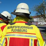 Neue Einsatzschutzbekleidung für die Berufsfeuerwehr Flensburg - © Benjamin Nolte / www.bos-inside.de