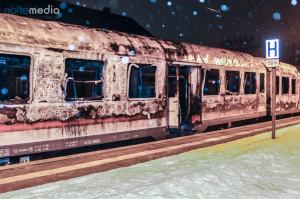 Das erste Feuer in der Silvesternacht 2010/2011 richtete einen Millionenschaden an  - © Benjamin Nolte / www.bos-inside.de