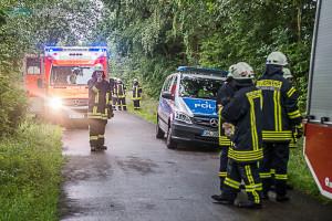 Schwerer Unfall bei Jardelund - © Benjamin Nolte / www.bos-inside.de