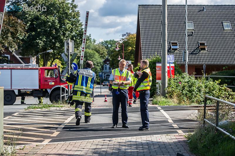 Tödlicher Unfall in Tarp - Fahrradfahrer von Güterzug erfasst - Foto: Benjamin Nolte / www.bos-inside.de