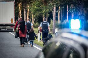 Auch die Insassen des Wohnmobils wollten nach Skanidnavien