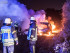 Dänischer PKW brennt nahe Harrislee aus - Foto: Benjamin Nolte / www.bos-inside.de