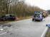 Schwerer Unfall zwischen Leck und Süderlügum - Foto: FF Leck