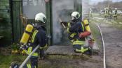 Feuerwehrübungen in Wees - Foto: Benjamin Nolte / www.bos-inside.de