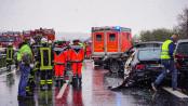 Massenunfall auf der A23 - Foto: meinkreis-pi.de