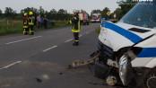 Schwerer Unfall in Oeversee - Foto: Benjamin Nolte / www.bos-inside.de