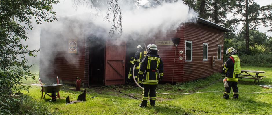 Feuer in Handewitt - Foto: Benjamin Nolte / www.bos-inside.de