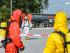 Gefahrgut-Einsatz auf der A7 - Foto: Benjamin Nolte / www.bos-inside.de