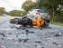 Schwerer Motorradunfall in Harrislee / Foto: Benjamin Nolte